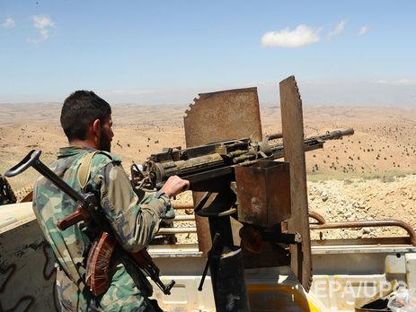 Сирийские повстанцы загрязнили воду дизельным топливом, чтобы перекрыть водоснабжение Дамаска