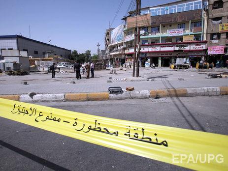 Неменее 11 человек погибли в итоге взрыва вИраке