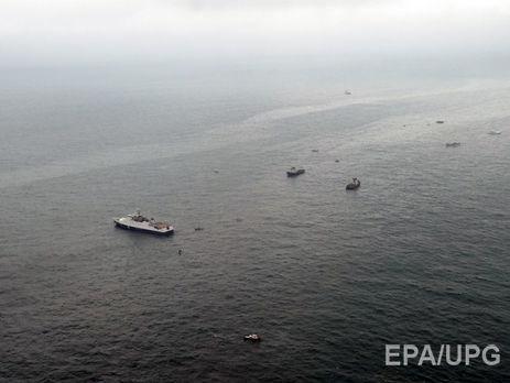 Самолет разбился в Черном море