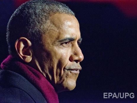 Обама назвал введенные против Российской Федерации санкции нужным и соответствующим ответом