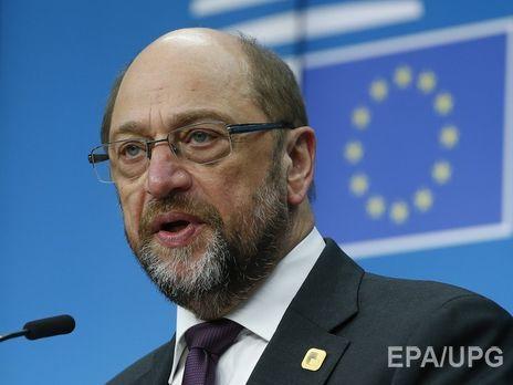 Руководитель Европарламента Шульц отказался сражаться запост канцлера ФРГ