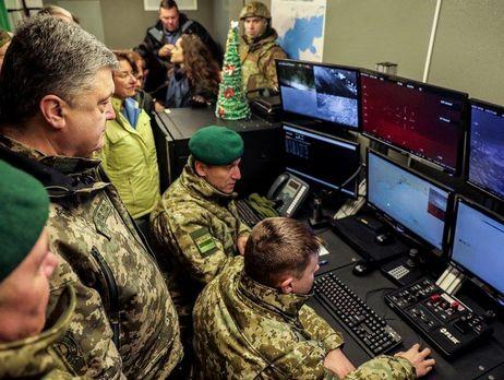Президент сказал пограничникам технику вДонецкой области