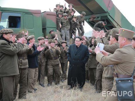 Ким Чен Ынпогрозил миру новой межконтинентальной баллистической ракетой