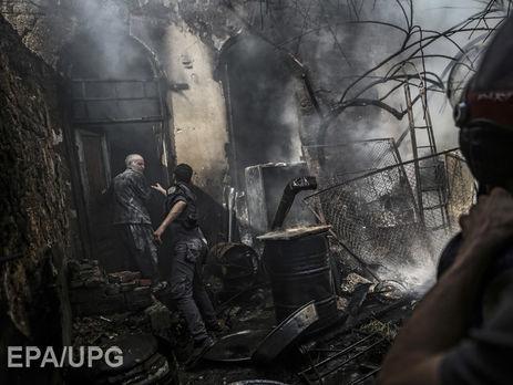 Авиация Асада бомбит позиции бунтовщиков  уДамаска— вражда  вСирии