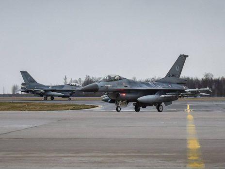 Наохрану воздушного пространства стран Балтии заступают летчики Нидерландов