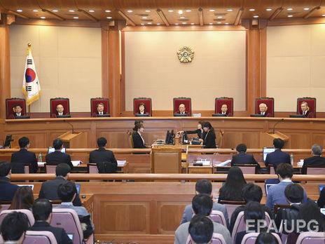 Президент Южной Кореи непришла насудебное совещание поделу обимпичменте