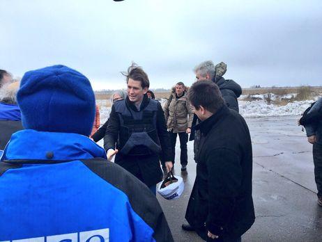 Руководитель МИД Австрии посетит Донецкую область