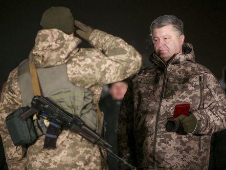 Военных, награжденных Порошенко 31декабря, оставили встречать Новый год вхолодном ангаре