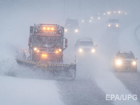 В Украинское государство идут метели ишквалистый ветер— Непогода
