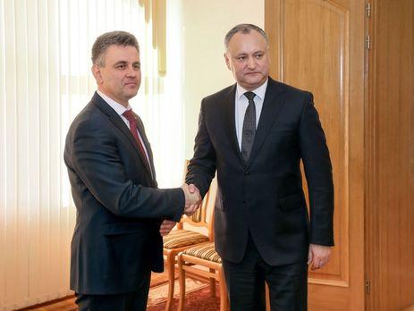 Руководителя Молдавии иПриднестровья провели встречу