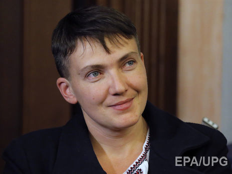 Савченко поведала засколько можно былобы закончить войну наДонбассе