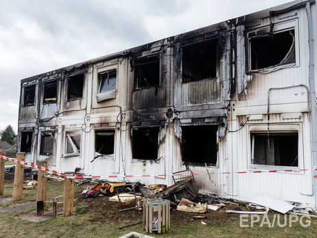 Вгерманском центре для беженцев произошёл пожар, пострадали порядка 30 человек
