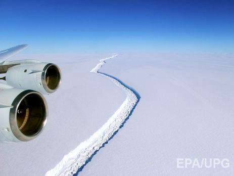 Ученые: ОтАнтарктиды отколется айсберг размером вдве Черновицкие области