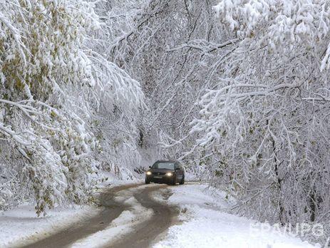 Государство Украину наРождество завалит снегом: выпадет до35 сантиметров осадков