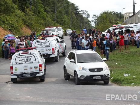 Неменее 30 заключенных убиты впроцессе тюремного бунта вБразилии
