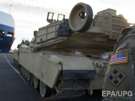Наследующей неделе вПольшу прибудут американские военные