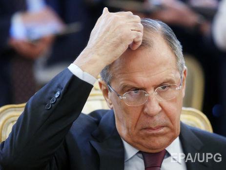 Министры иностранных дел Российской Федерации иФранции обсудили потелефону ситуацию вСирии