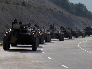 Российских военных у границы стало меньше