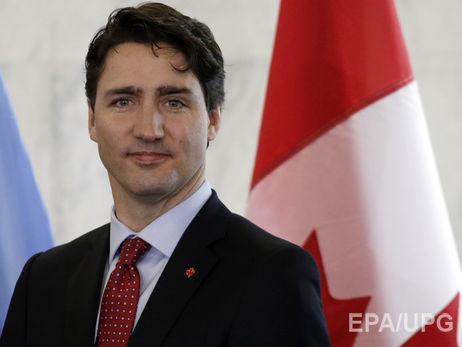 Премьер Канады Трюдо отменил поездку нафорум вДавос