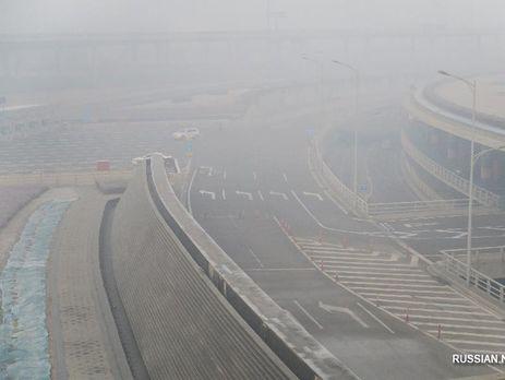 Для борьбы сосмогом создадут экологическую полицию— Пекин
