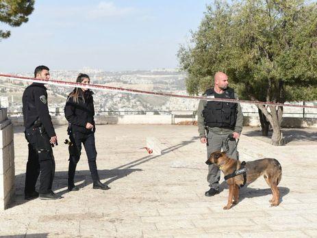 Фургон врезался впрохожих, есть жертвы ираненые— Теракт вИерусалиме
