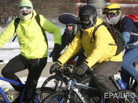 Велопарад в российской столице  состоится, невзирая  наморозы