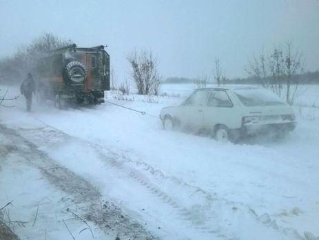 НП: Из-за непогоды на трассах Украинского государства погибли 3, травмированы 75 человек