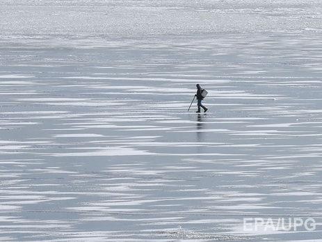 ВДнепре мужчина провалился под лед нареке и потонул