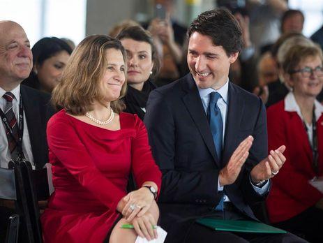 Порошенко о назначении Фриланд министром иностранных дел Канады: Гордимся и поддерживаем!