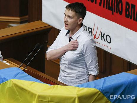 Савченко намерена сотрудничать с СБУ