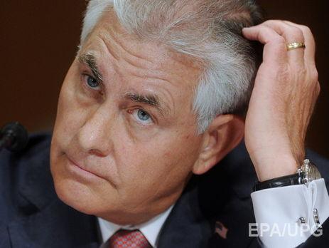 Будуший госсекретарь Тиллерсон обвинил Российскую Федерацию  вигнорировании интересов США