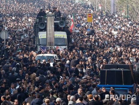 В Тегеране иранского экс-президента Рафсанджани похоронили под крики