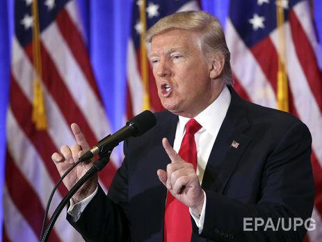 Трамп прокомментировал информацию оналичии у РФ компромата нанего