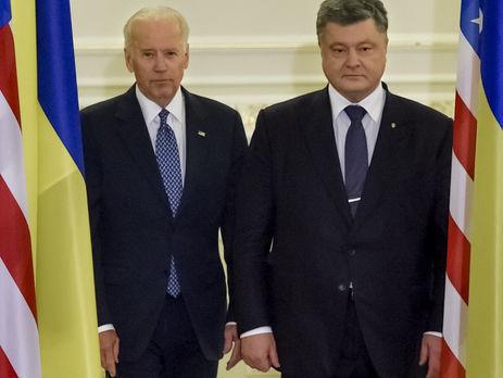 П.Порошенко встретится сДж.Байденом 15января