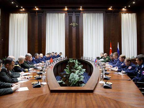 ВоенныеРФ иТурции договорились окоординации авиации вСирии