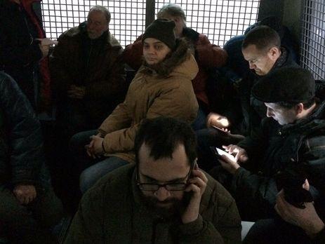 В столицеРФ акции протеста задержали неменее 40 человек