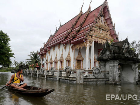 ВТаиланде число жертв при наводнении превысило 40 человек