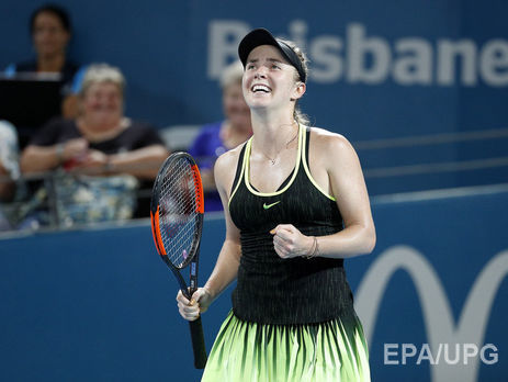 Цуренко уступила настарте Australian Open первой ракетке мира