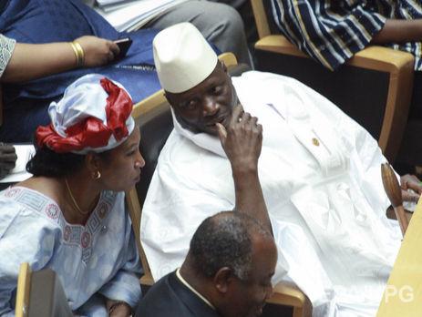 Президент Гамбии ввел вгосударстве чрезвычайное положение