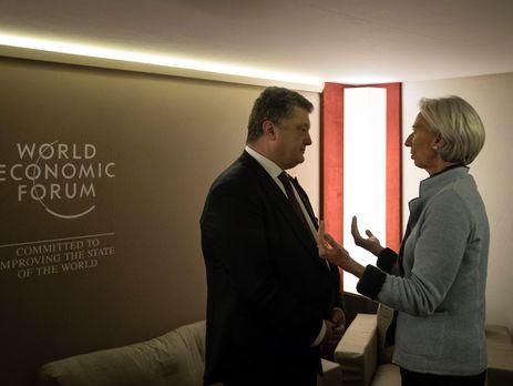 МВФ недавно решит судьбу кредита для Украины— Лагард