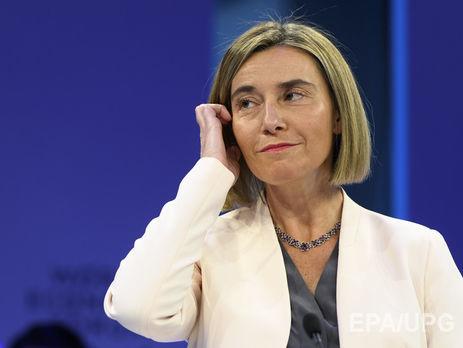 По словам Могерини Россия постоянно ждала что ЕС не сможет достичь единства или потеряет его