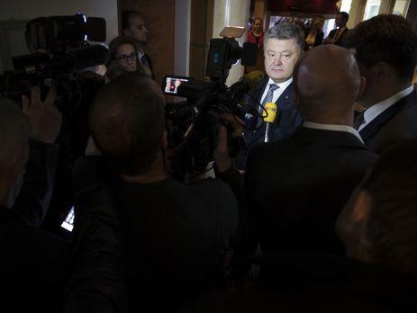 П.Порошенко: Украина рассчитывает наэффективное сотрудничество сновой администрацией президента США