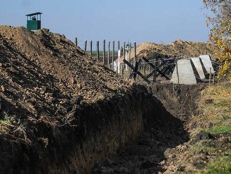 ВХарьковской области остановлено строительство «Стены» награнице сРоссией