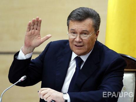 Суд вКиеве позволил заочно расследовать дело огосизмене Януковича