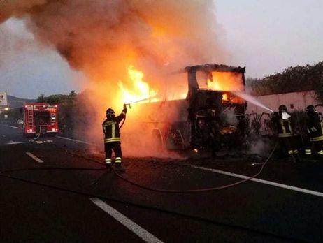 ВИталии разбился автобус сдетьми изВенгрии