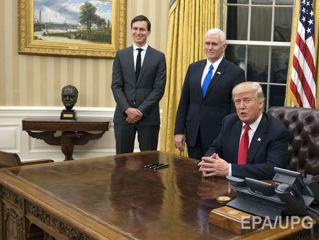 Трамп вернул вОвальный кабинет бюст Черчилля, убранный Обамой
