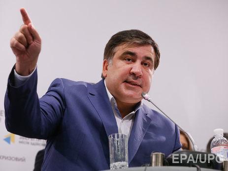 Саакашвили: «Наконец-то уПорошенко здравый смысл взял верх над жадностью»