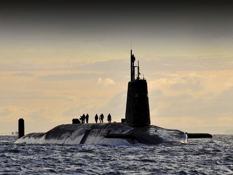 СМИ проинформировали о неудачном пуске баллистической ракеты английского флота