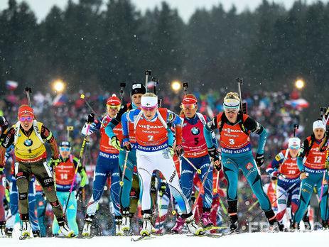 IBU снял обвинения вупотреблении допинга с22 из29 русских биатлонистов