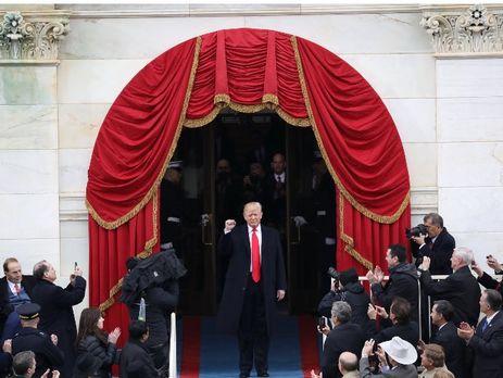 Трамп удивился массовым протестам после его инаугурации